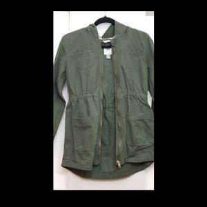 Army green coat (kids)